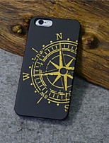 Para Funda iPhone 6 / Funda iPhone 6 Plus Diseños Funda Cubierta Trasera Funda Dibujos Dura Madera iPhone 6s Plus/6 Plus / iPhone 6s/6