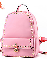 M.Plus® Women's Fashion Rivet PU Leather Backpack