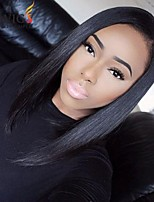 Joywigs Fashion Bob Straight Natural Color Brazilian Virgin Hair Lace Front Wig/Full lace wig