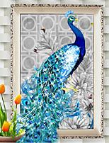 DIY 5d Diamanten Stickerei Diamant Mosaik neue Pfau Seele lieben Dekoration runden Diamant-Malerei Kreuzstich-Kits zu Hause