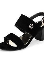 Women's Shoes Chunky Heel Open Toe Slingback Sandals More Color Available