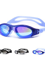 Unisex PC Waterproof Swimming Goggles