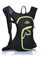20-30 L mochila Esportes de Lazer Ao ar Livre Á Prova de Humidade / Vestível Preto Oxford Fulang