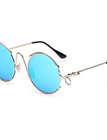 Sunglasses Men / Women / Unisex's Fashion Round Silver / Gold Sunglasses Full-Rim