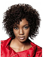 Newest Medium Long Afro Kinky Curly Wig Synthetic Wig for Black Women