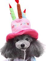 Dog Collars Adjustable/Retractable Pink Sponge