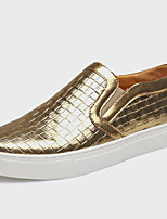 Men's Shoes Office & Career /Party & Evening /Athletic / Dress / Casual Patent Leather Loafers Black/Silver/Gold