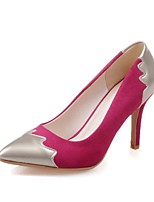 Scarpe Donna - Scarpe col tacco - Matrimonio / Ufficio e lavoro / Serata e festa - Tacchi - A stiletto - Finta pelle - Nero / Blu / Rosa