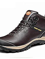Zapatos Senderismo Nappa Leather Negro / Marrón / Gris Topo Hombre