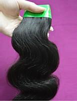 Großhandel 500g Menge des reinen indischen remy Menschenhaarkörperwelle 7a Klasse nicht verarbeitete indisches Haar webt Bündel natürliche