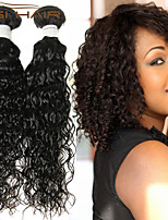 3 Bundles Top Quality Unprocessed Brazilian Virgin Hair Deep Curly Brazilian Human Hair Weaves Queen Weave Beauty Curly