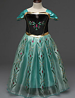 Vestido Chica de - Verano - Poliéster - Verde
