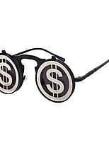 Sunglasses Unisex's Retro/Vintage / Modern / Fashion / Geek & Chic Round Black Sunglasses Full-Rim