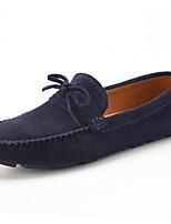 Heren Loafers & Slip-Ons Lente / Zomer / Herfst / Winter Platte schoenen VarkensleerHuwelijk / Kantoor & Werk / Informeel / Feesten &