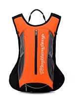 12 L mochila Esportes de Lazer Ao ar Livre Á Prova de Humidade / Vestível Laranja Oxford Fulang