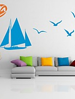 AYA™ DIY Wall Stickers Wall Decals,Sailing Seagull  PVC Wall Stickers