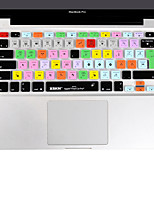 XSKN Final Cut Pro 7 silicone peau de couverture de clavier d'ordinateur portable pour macbook air 13 pouces, MacBook Pro 13 15 17 pouces,