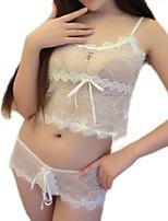 Vêtement de nuit Femme Ultra Sexy / Costumes Dentelle / Nylon / Polyester