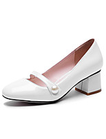 Women's Shoes Chunky Heel Heels Heels Office & Career / Party & Evening / Dress Black / Red / White