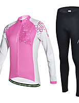 CHEJI Women SportWear Cycling Bike Long Sleeve Clothing Bicycle Jersey Long Suit