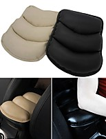 ZIQIAO Car Auto Armrests Cover  Arm Rest Seat Box Pad Protective Case Soft PU Mats Cushion Universal