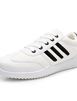 Men's Shoes Office & Career / Casual / Athletic Tulle Fashion Sneakers Black / White / Gray