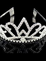 Tiare Casque Mariage / Occasion spéciale Strass / Cristal / Alliage Femme Mariage / Occasion spéciale 1 Pièce