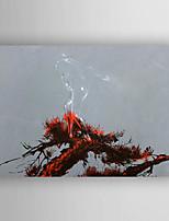 oliemaleri landskab hånd malede med strakte indrammet klar til at hænge