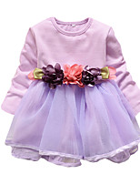 Girl's Flower Dress Three Flower Mesh Tutu Party Casual Princess Spring and Summer Kids Clothes Dresses