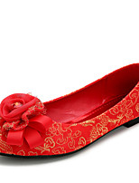 Chaussures de mariage-Rouge-Mariage / Habillé-Baby-Plates-Homme