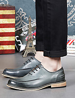 Men's Shoes Amir 2016 New Style Hot Sale Party/Office/Casual Black/Gray Leather Oxfords