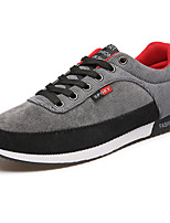 Men's Shoes Outdoor / Athletic / Casual Patchwork Fashion Sneakers Blue / Red / Gray