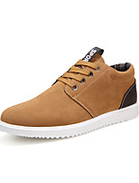 Men's Shoes Outdoor / Casual / Athletic Fleece Fashion Sneakers / Athletic Shoes Brown / Yellow / Gray