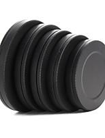 Metal Lens Filter Front Rear Cap Protective Portable Box 37/40.5/43/46/49mm