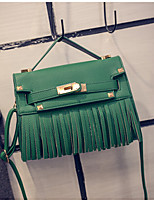 Women PU Hobo Shoulder Bag / Tote-Green / Red / Gray / Black