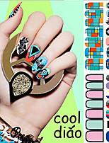 -Finger / Andere-3D Nails Nagelaufkleber / Andere Dekorationen-Andere-1Stück -14.5*7.5cm
