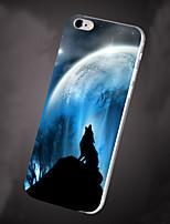 Для Кейс для iPhone 6 / Кейс для iPhone 6 Plus С узором Кейс для Задняя крышка Кейс для Пейзаж Мягкий TPUiPhone 6s Plus/6 Plus / iPhone