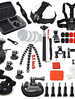39 Accessori GoProMonopiede / Treppiedi / Con bretelle / Boje / Sog / Dispositivo anti-nebbia / Chiavi inglesi / Accessori Kit / Morsetto