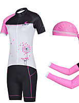 CHEJI Breathable Cycling Clothes Suit Pirate Scarf & Sleeves