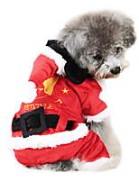 Dog Coat Red Winter Fashion