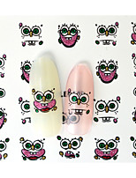 10PCS 3D Water Transfer Sponge Baby Expression Image Nail Art Sticker DIY Nail Tools Decoration  Nail Tips BLE986D