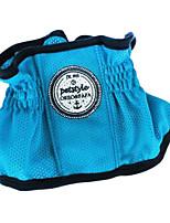 Perros Collar Reflexivo Azul Textil