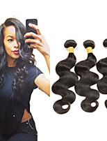 2016 heiße indische Haarverlängerung Menschenhaar 100% natürliche Farbe 40g / bundle