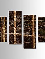 Paesaggio Print Canvas Quattro Pannelli Pronto da appendere,Verticale