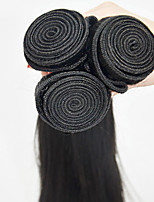 3pieces/lot Human Hair Weaves 16inch Human Hair Extension Silk Straight Virgin Hair Tangle Free