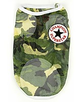 Dog Vest Camouflage Color Summer / Spring/Fall Camouflage Fashion-Pething®