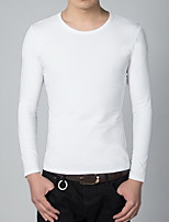 Men's Fashion Casual Long Sleeved  Round Neck T-shirt