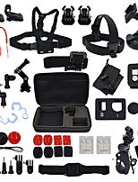 37 in 1 Gopro Accessory Kit Mount Frame Case Straps Bags Remote Controller Suction Anti-Fog Inserts for 4S/4/3+/3/2/1