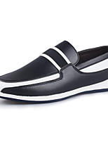 Men's Shoes Casual/Party/Office & Career Fashion Leather Shoes Black/White/Bule