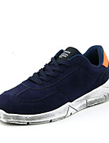 Men's Shoes Outdoor / Athletic / Casual Fleece Fashion Sneakers Black / Blue / Red